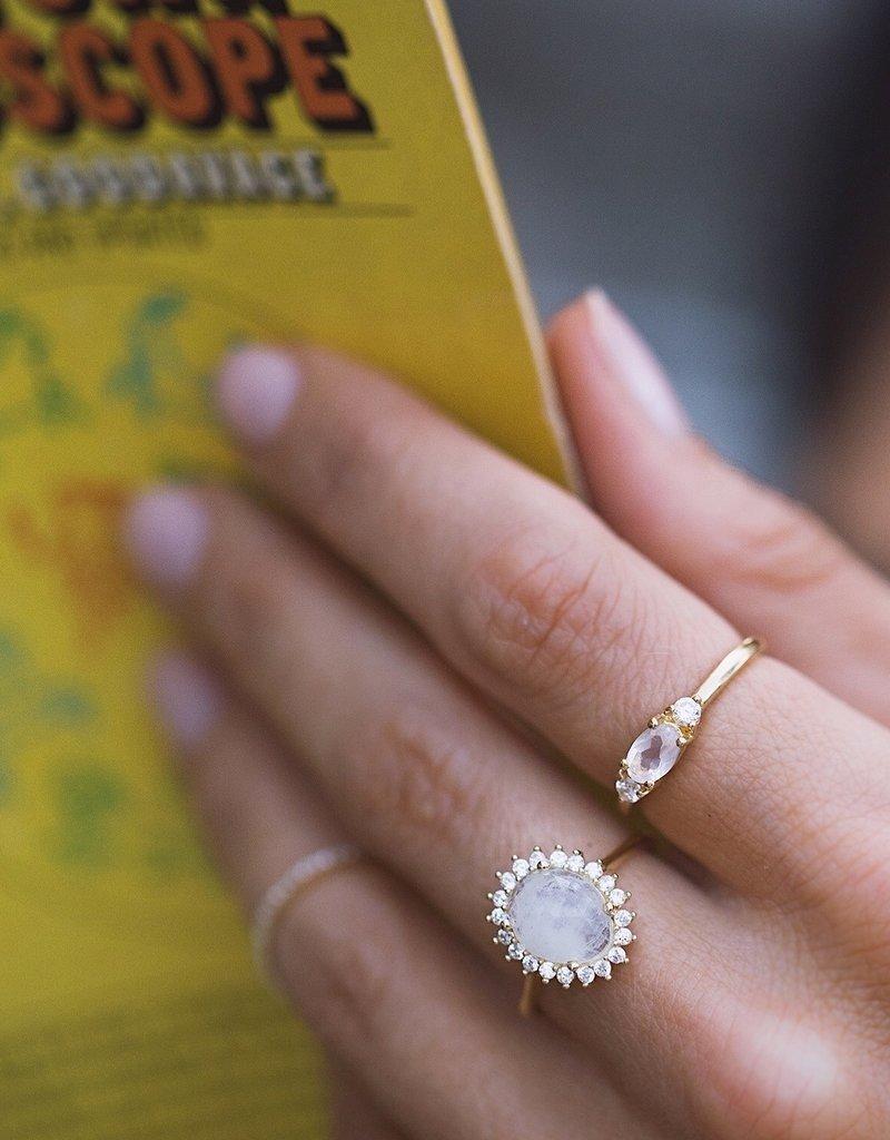 Leah Alexandra Leah Alexandra - Antiquity Ring - Moonstone