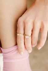 Leah Alexandra Leah Alexandra - Elle Ring - Rose Quartz