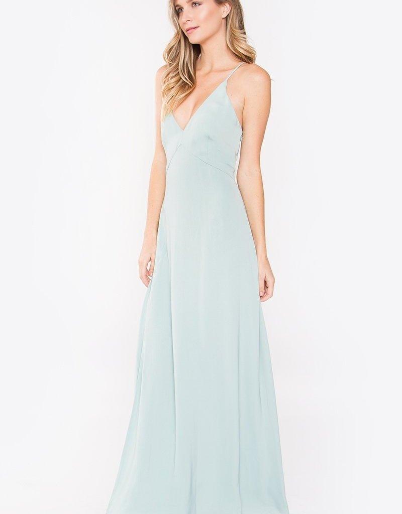 Sugarlips Maida Plunging Maxi Dress