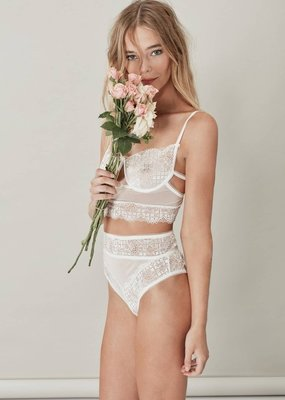 For Love and Lemons For Love and Lemons - Daffodil High-Waisted Panties