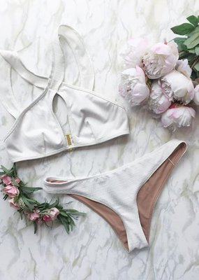 For Love and Lemons For Love and Lemons La Playa Ruffle Bikini