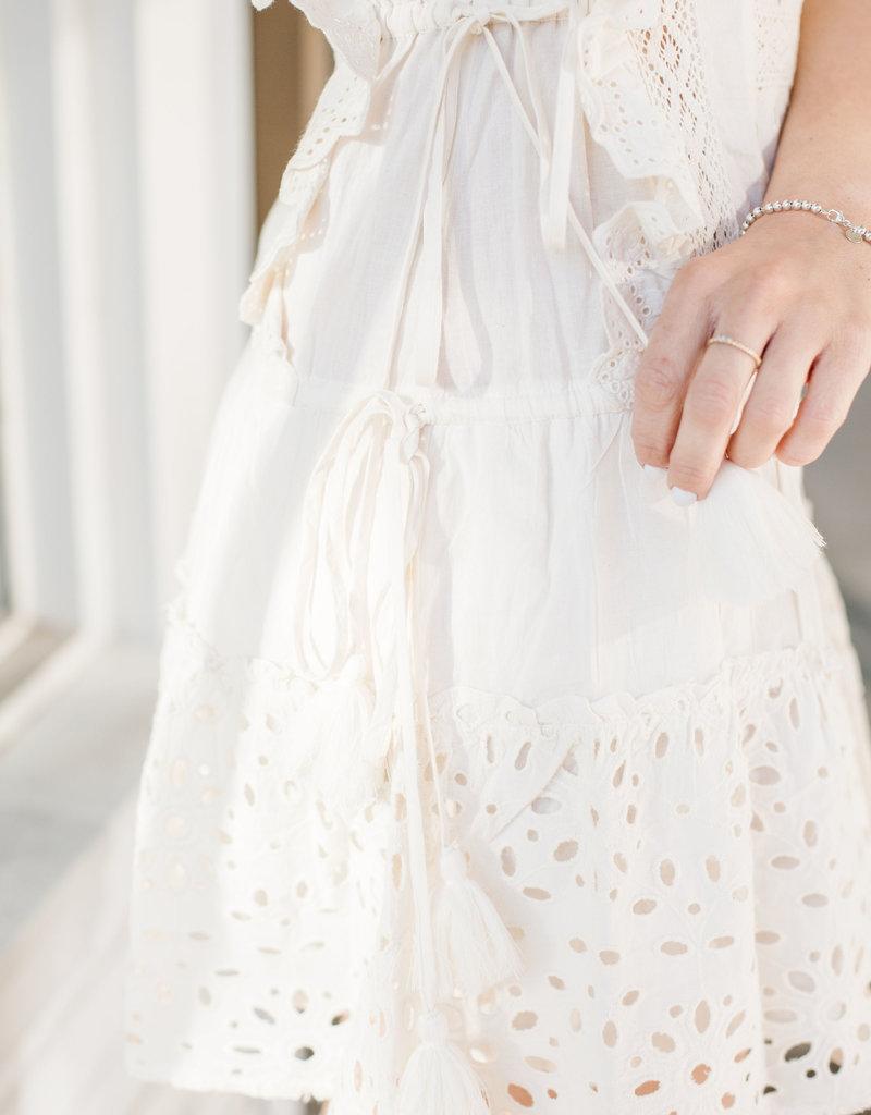 MISA Misa Los Angeles - Marieta Eyelet Detail Dress