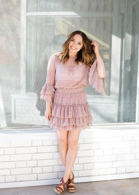 MISA Misa Los Angeles - Bernita Ruffled Mini Dress