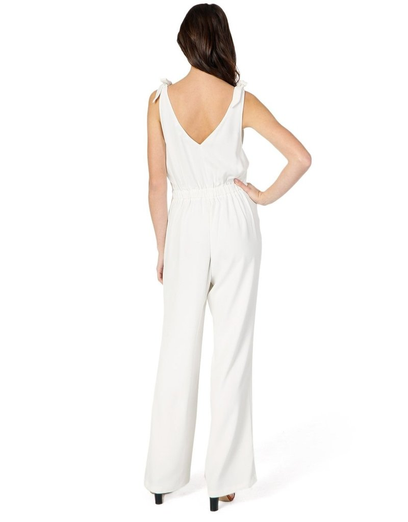 Cupcakes & Cashmere Topeka White Jumpsuit