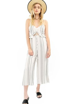 Saltwater Luxe Savannah Striped Jumpsuit