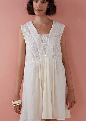 Des Petits Hauts Temizo White Dress