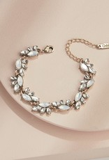Olive & Piper Olive & Piper - Edna Crystal Bracelet *More Colours*