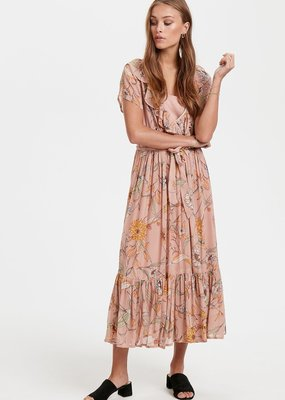 Part Two Remington Floral Wrap Midi Dress