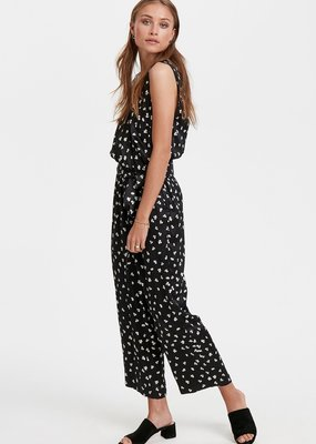 Part Two Raja Black Floral Jumpsuit