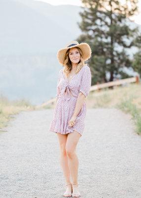 Faithfull Faithfull - Marigot Dress in Azalea Floral Pink