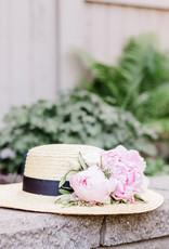 Lack of Color Spencer Wide Brimmed Boater Straw Hat