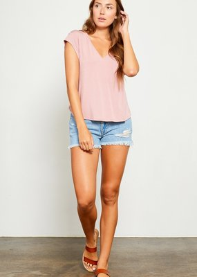 Gentle Fawn Nora V-Neck Tee