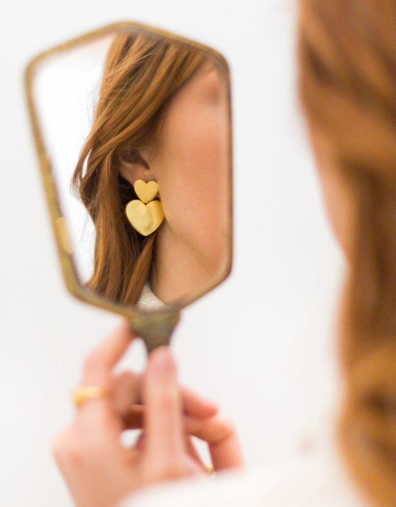Sugar Blossom Charlotte Heart Earrings