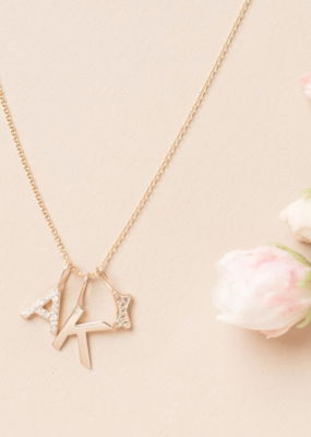 Melanie Auld Pre-Order - Jillian Harris and Melanie Auld Adorned Charm Collection - Pavé Dog Bone Charm