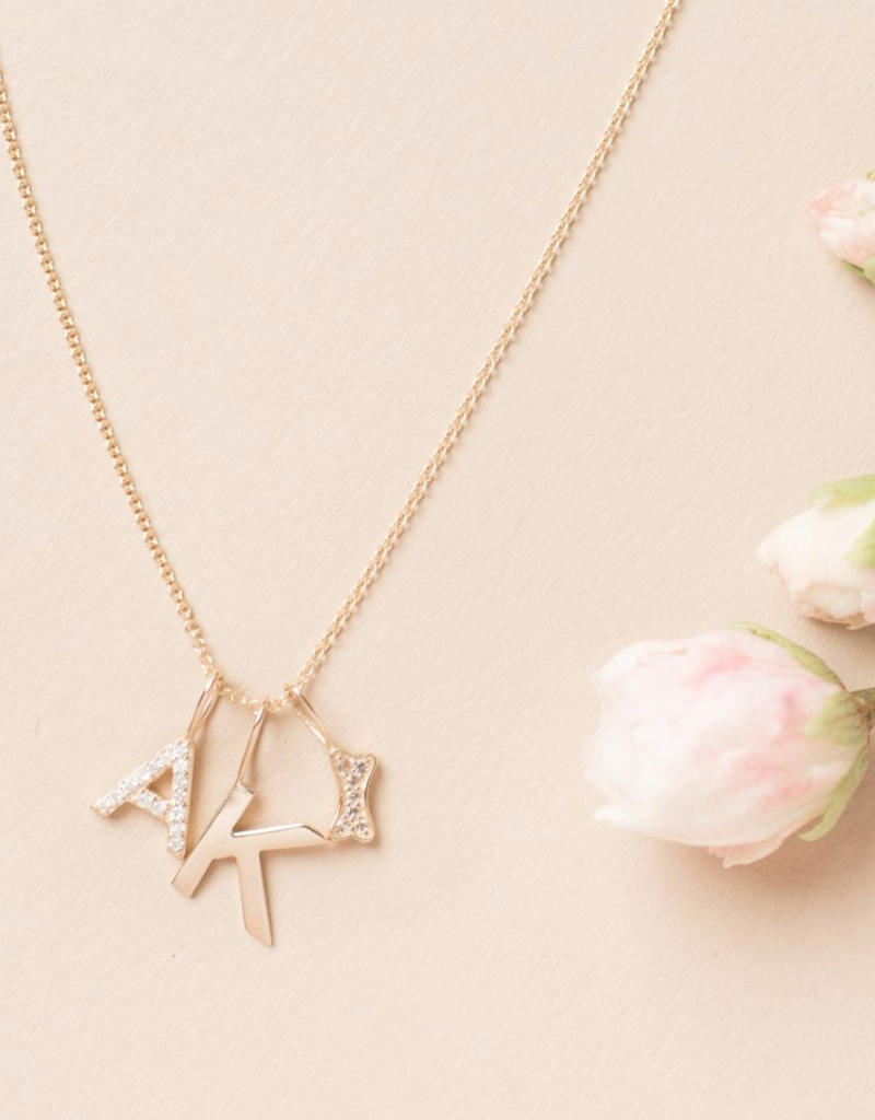 Melanie Auld Jillian Harris and Melanie Auld Adorned Charm Collection - Pave Dog Bone Charm