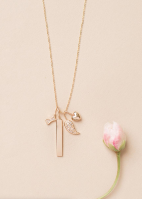 Melanie Auld Pre-Order - Jillian Harris and Melanie Auld Adorned Charm Collection - Puffed Heart Charm