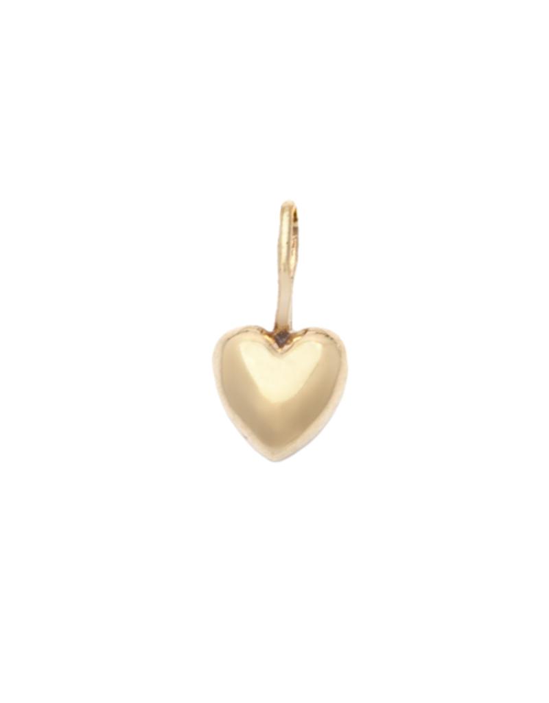 Melanie Auld Jillian Harris and Melanie Auld Adorned Charm Collection - Puffed Heart Charm