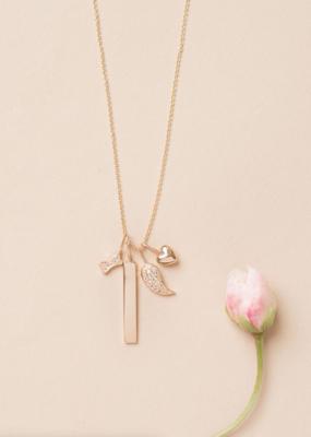 Melanie Auld Jillian Harris and Melanie Auld Adorned Charm Collection - Pavé Angel Wing Charm
