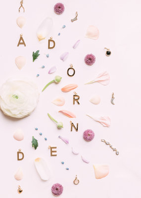 Melanie Auld Pre-Order - Jillian Harris and Melanie Auld Adorned Charm Collection -  Wishbone Charm