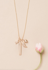 """Melanie Auld Jillian Harris and Melanie Auld Adorned Charm Collection -  Cable Chain 16"""" with 2"""" Extension"""