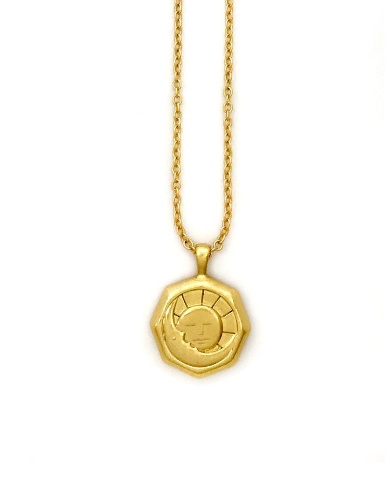 Sugar Blossom Livy Sun And Moon Necklace