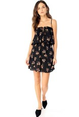 Saltwater Luxe Floral Ruffle Mini Dress