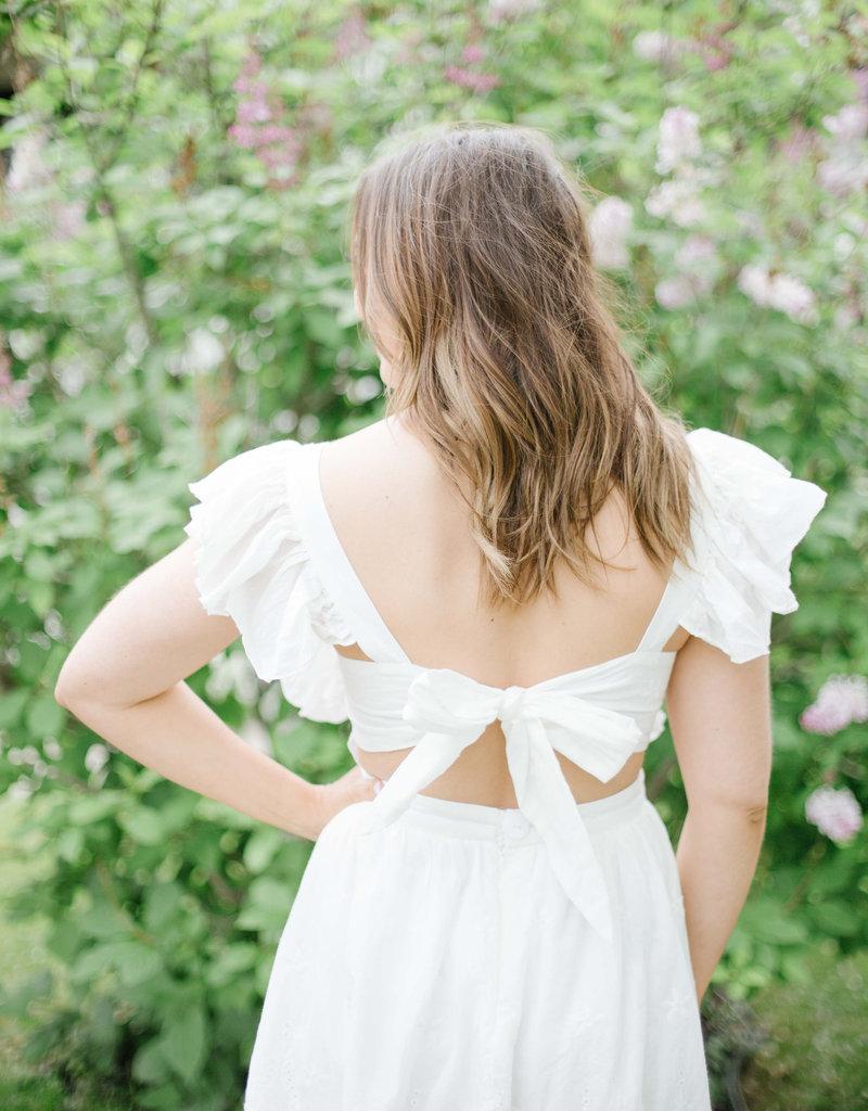 Maccs the Label Positano White Dress
