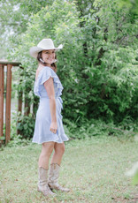 Cupcakes & Cashmere Mitzi Striped Dress