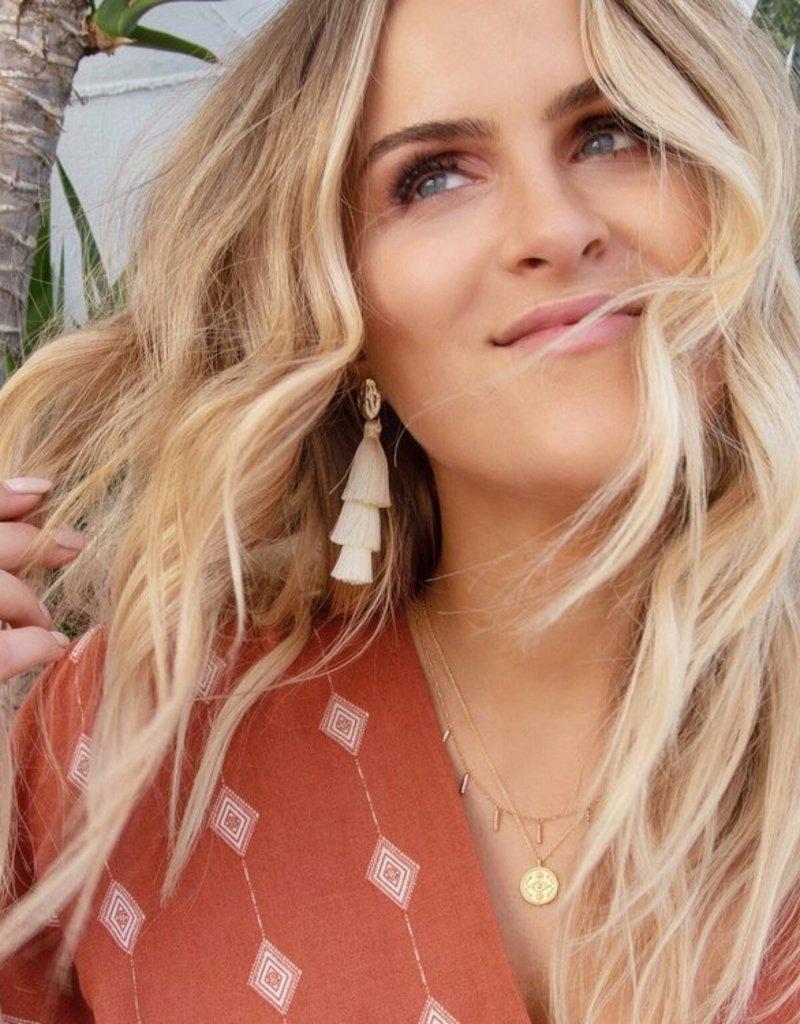 Lavender & Grace Lavender and Grace - Santorini Earrings