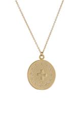 Lavender & Grace Lavender and Grace - Jo Gold Necklace