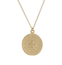 Lavender & Grace Lavender & Grace - Jo Gold Necklace