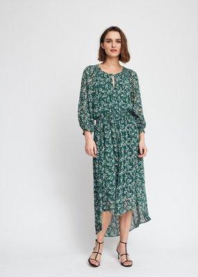InWear Hayden Warm Green Floral Print Dress