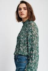 InWear Hayden Warm Green Floral Blouse