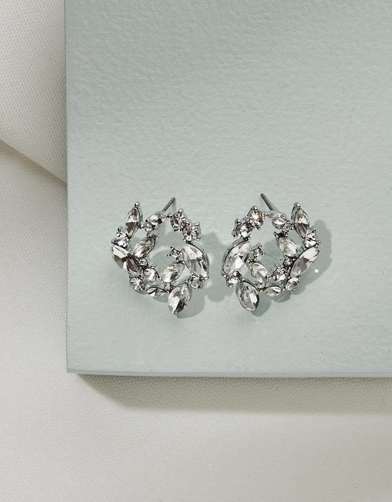 Olive & Piper Mila Earrings - Silver