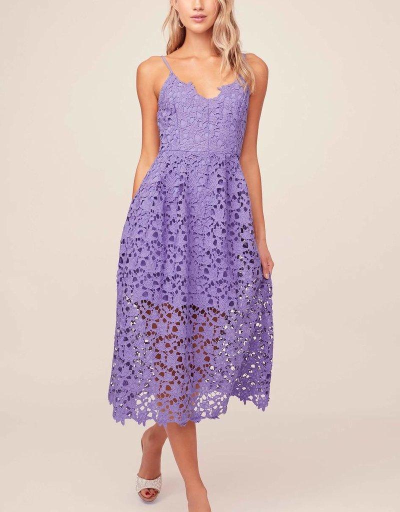 ASTR Kenna Floral Lace Midi Dress *More Colours*