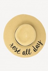CC Exclusives Straw Floppy Hat - Rose All Day
