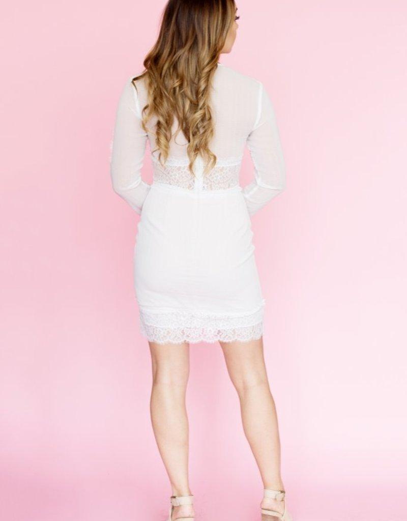 Keepsake Starstruck Long Sleeve Dress