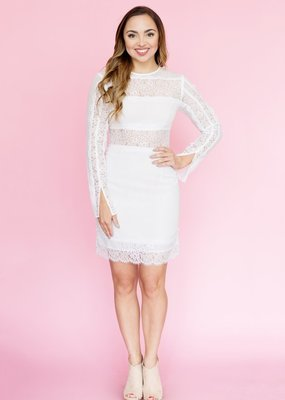 Keepsake Keepsake the Label - Starstruck Long Sleeve Dress