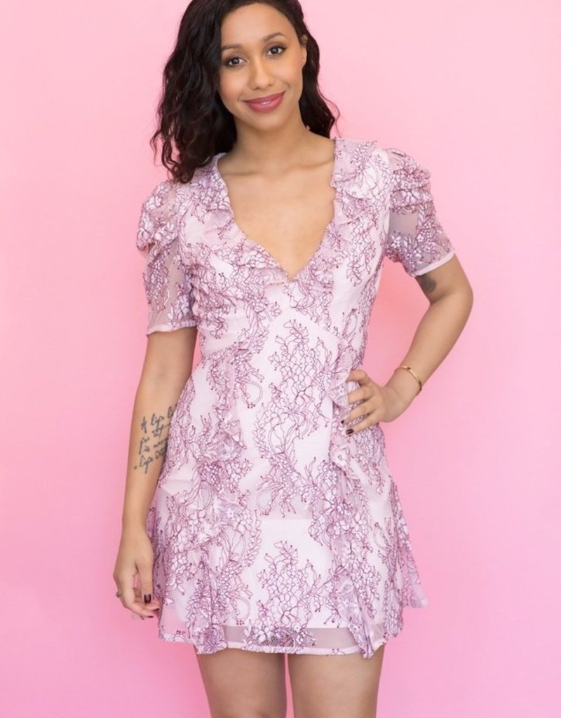 Keepsake Hold On Lace Dress