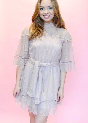 Keepsake Keepsake the Label - Slide Lace Mini Dress