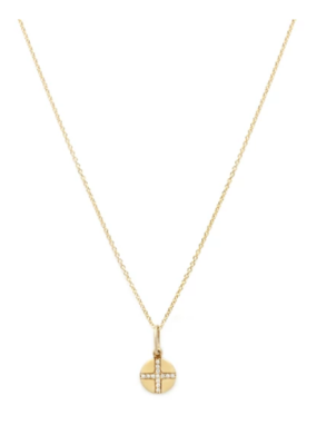 Leah Alexandra Leah Alexandra - Seville Cross Coin Necklace