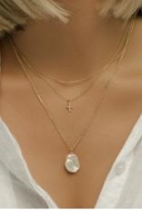 Leah Alexandra Leah Alexandra Cross Necklace