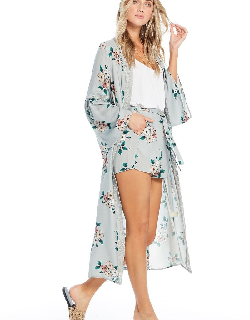 Saltwater Luxe Duster with Lace Inserts
