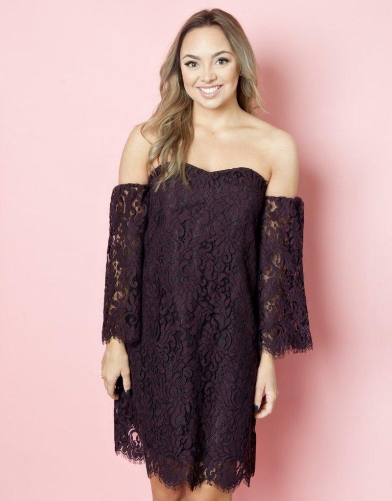 Cupcakes & Cashmere Adalira Lace Dress
