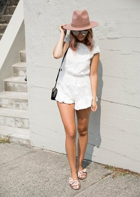 Maccs the Label Lovely in Lace Romper *More Colours*