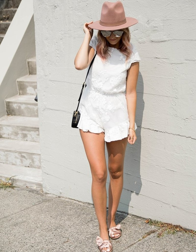 Maccs the Label Lovely in Lace Romper