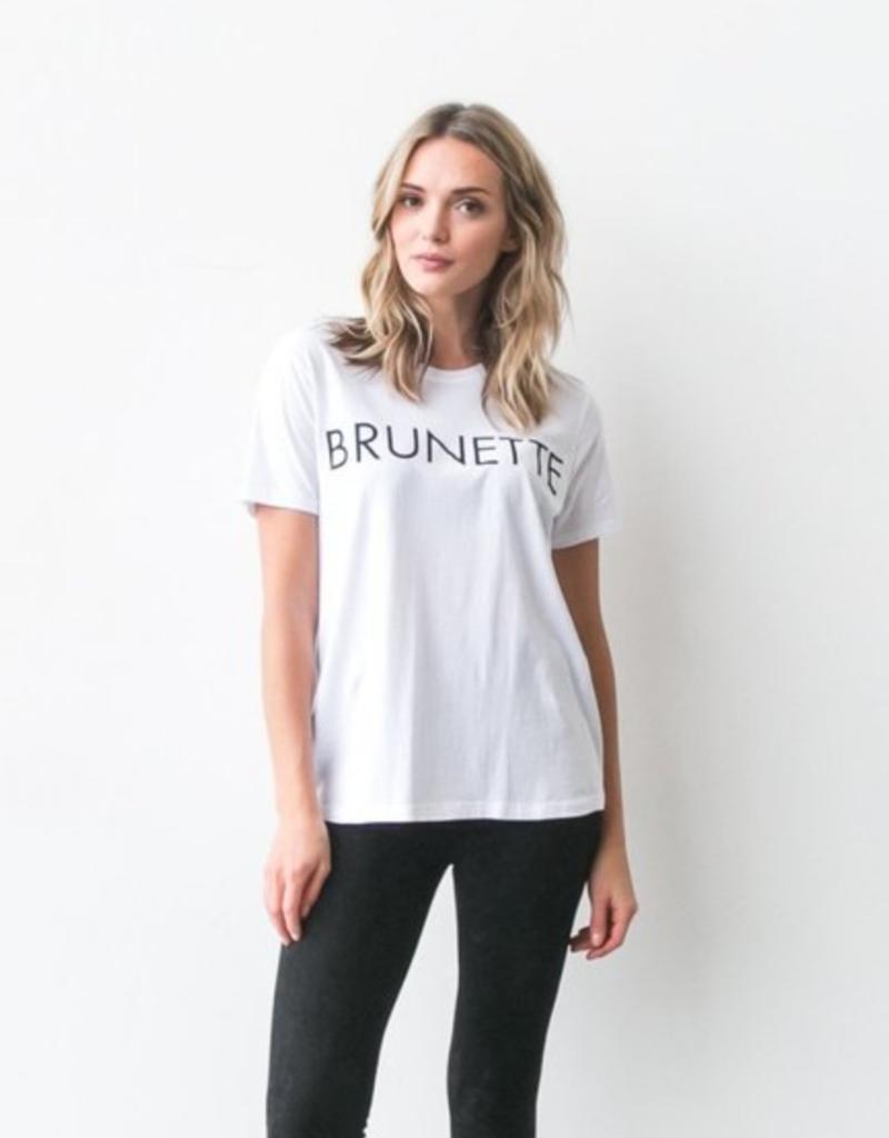Brunette the Label Brunette The Label Ryan Tee - Brunette