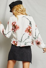 Sage the Label Just Like Heaven Floral Blouse