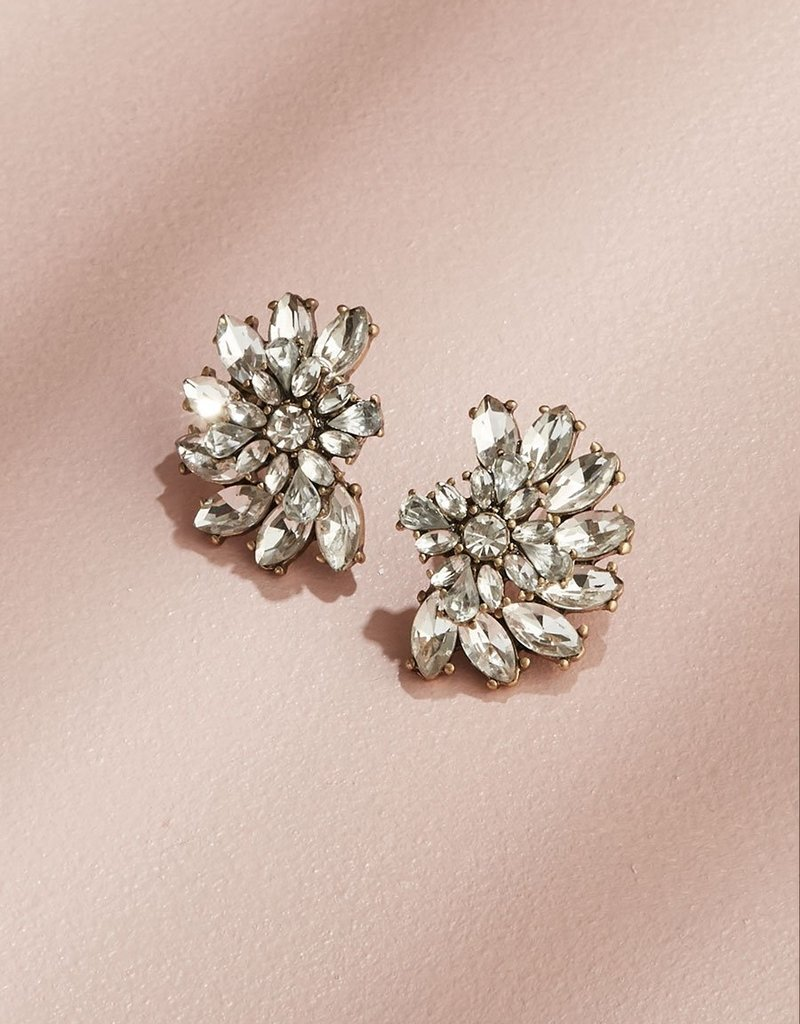 Olive & Piper Luxe Cluster Studs - Ox Gold