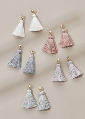 Olive & Piper Olive & Piper - Mini Tassel Earrings